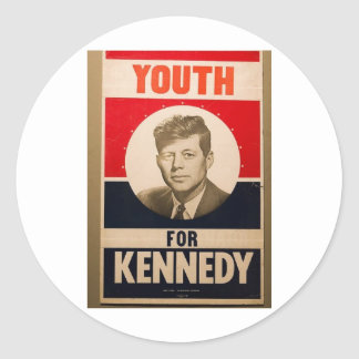 1960 Kennedy Stickers