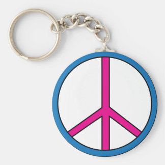 1960 Key Chain - Peace Sign