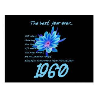 1960 OLDIES Reunion Birthday Anniversary Postcard