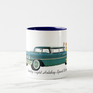 1960 Oldsmobile Ninety Eight Holiday Sport Sedan Two-Tone Coffee Mug