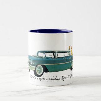 1960 Oldsmobile Ninety Eight Holiday Sport Sedan Two-Tone Coffee Mug