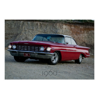 1960 Oldsmobile Sunset Poster
