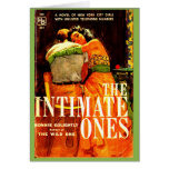 1960 pulp novel cover The Intimate Ones Card