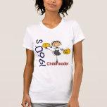 1960's Cheerleader Stick Figure Tshirts