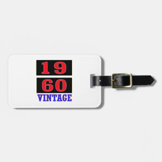1960 Vintage Tag For Bags