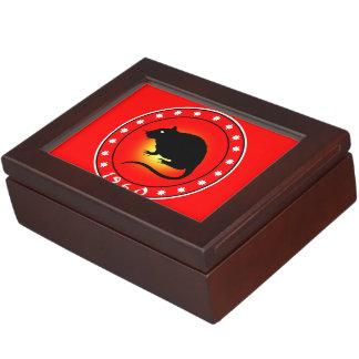 1960 Year of the Rat Memory Box