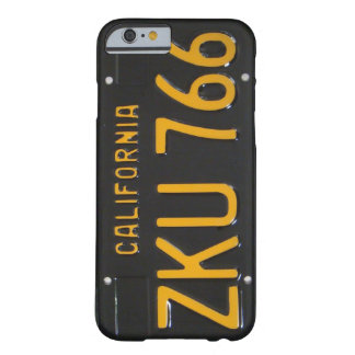 1960's CA License Plate iPhone 6 case