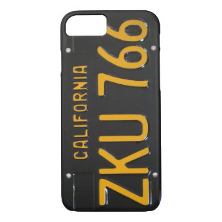 1960's CA License Plate iPhone 7 case