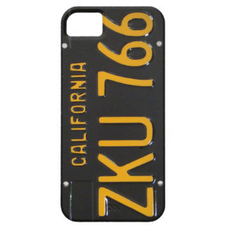 1960's CA License Plate iPhone Case