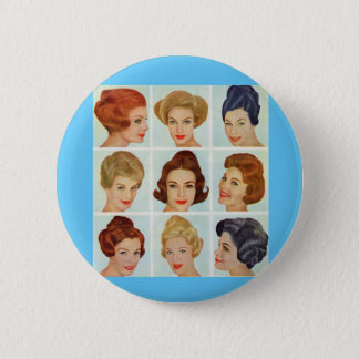 1960s hairstyles grid button