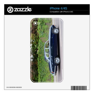 1960s Jaguar S Type Decal For The iPhone 4S