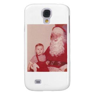 1960's Little Boy and Santa Samsung Galaxy S4 Case