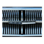 1960's Mercury Classic Car Grill Postcard