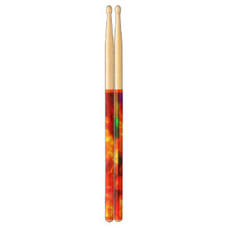 1960s Psychedelic Colors Drumsticks