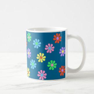 1960's Retro Flower Power Coffee Mug