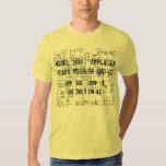 1960s SEARS SILVERTONE TWIN TWELVE Schematic T Shirt