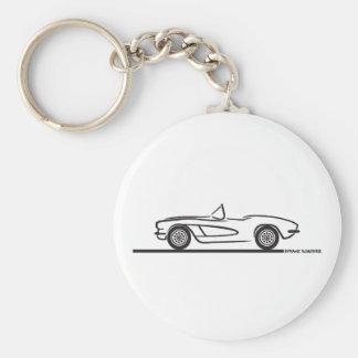 1961 1962 Chevrolet Corvette Llavero