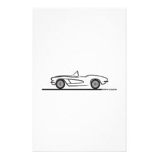 1961 1962 Chevrolet Corvette Papelería