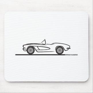 1961 1962 Chevrolet Corvette Alfombrilla De Raton