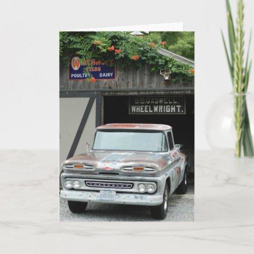 1961 Chevrolet Apache 10 Card