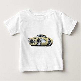 1961 Corvette Beige Car Baby T-Shirt
