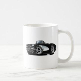 1961 Corvette Black Convertible Coffee Mug