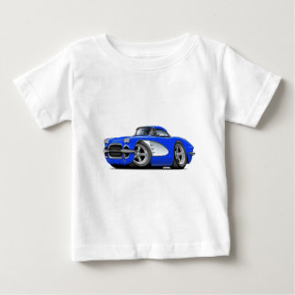 1961 Corvette Blue Car Baby T-Shirt