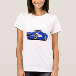 1961 Corvette Blue Car T-Shirt