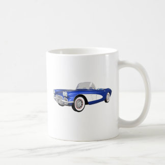 1961 Corvette C1: Blue Finish: Coffee Mug
