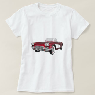 1961 Corvette C1: Candy Apple Finish: T-Shirt