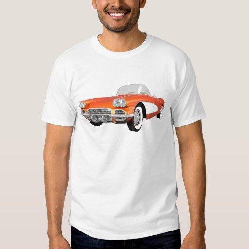 1961 Corvette C1: Orange Finish: T-shirt