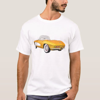 1961 Corvette C1: Yellow Finish: T-Shirt