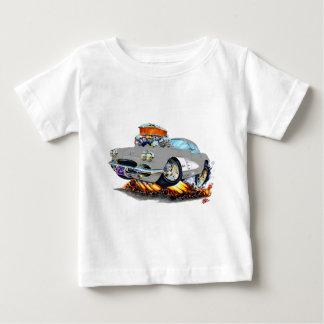 1961 Corvette Grey Car Baby T-Shirt