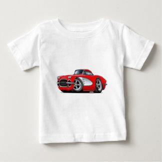 1961 Corvette Red Car Baby T-Shirt