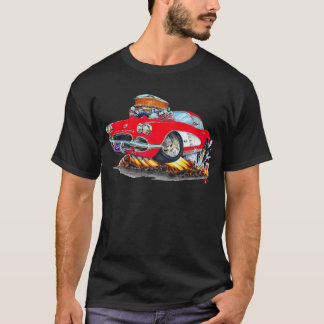 1961 Corvette Red Car T-Shirt