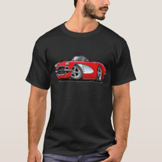 1961 Corvette Red Convertible T-Shirt