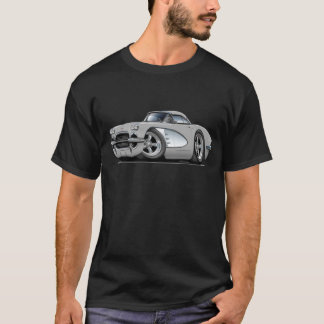 1961 Corvette Silver Car T-Shirt