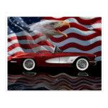 1961 Corvette Tribute Post Cards