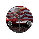 1961 Corvette Tribute Wallclocks