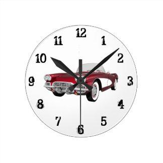 1961 Corvette: Wall Clock