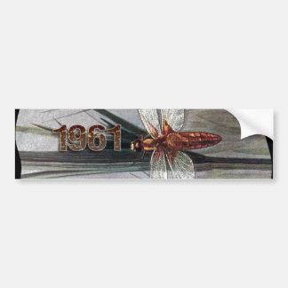 1961 Dragonfly Bumper Sticker