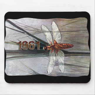 1961 Dragonfly Mouse Pad
