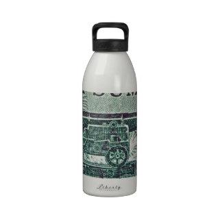 1961 Fort Sumter Civil War Stamp Water Bottle