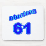 1961 Nineteen 61 Mouse Pad
