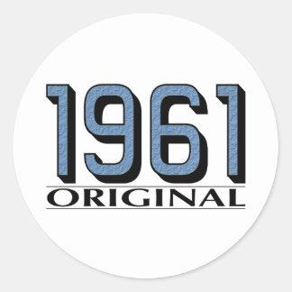 1961 Original Round Sticker