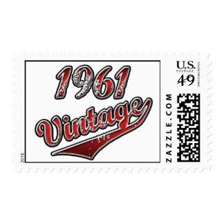 1961 Vintage Postage Stamp