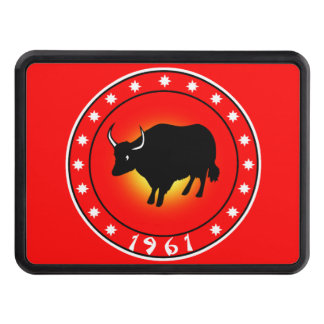 1961 Year of the Ox Tow Hitch Cover