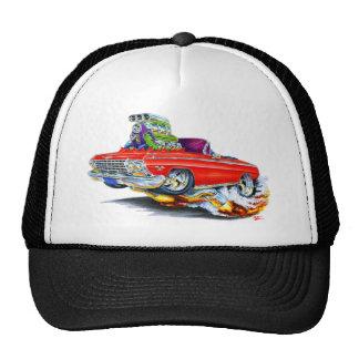 1962-63 Impala Red Convertible Mesh Hat
