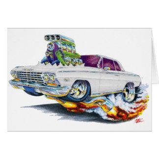 1962-63 Impala White Car Card