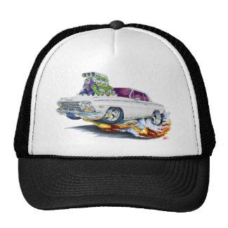 1962-63 Impala White Car Hats